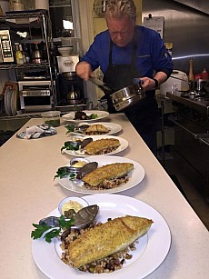Plating pickerel