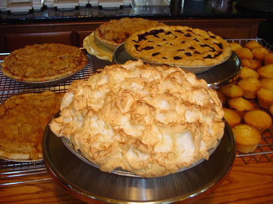 Pie Recipes from Vicci Coughlin, Telegraph House Bed & Breakfast in Port Stanley